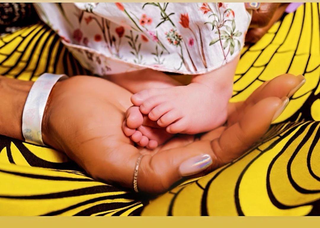 наоми кэмпбелл впервые стала мамой