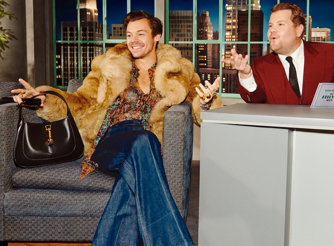 Дакота Джонсон, Гарри Стайлз и другие звезды в необычной рекламе Gucci (ФОТО+ВИДЕО) - фото №1