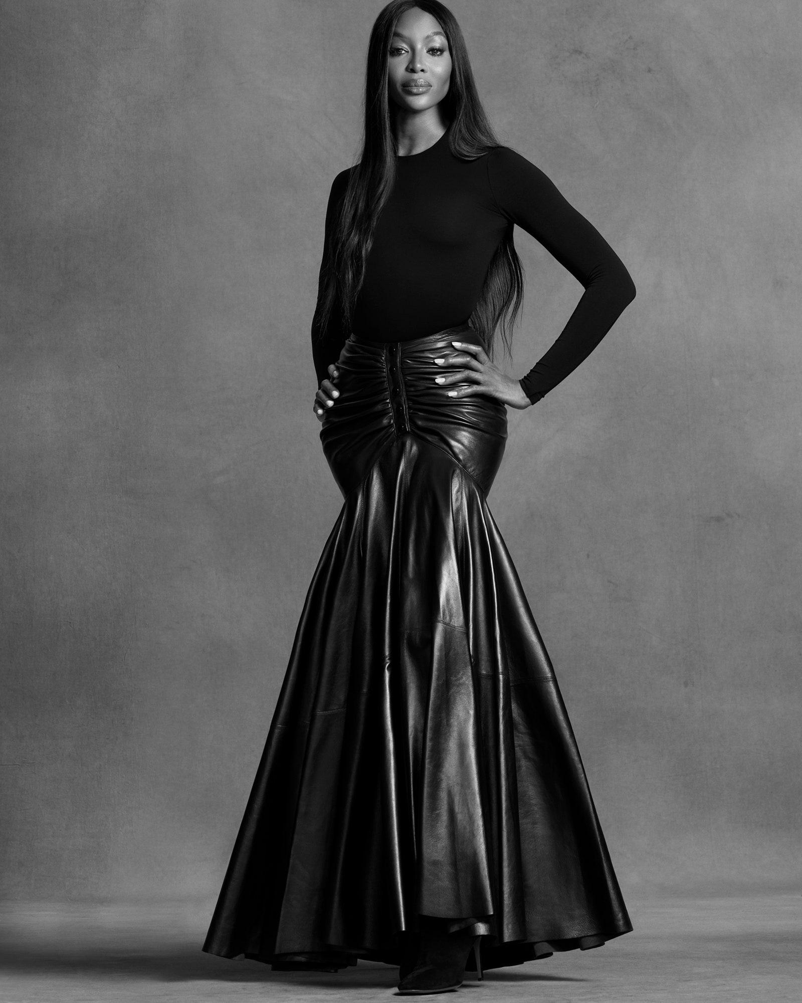 Наоми Кэмпбелл снялась для нового выпуска Vogue, который посвящен протестам в США (ФОТО) - фото №6