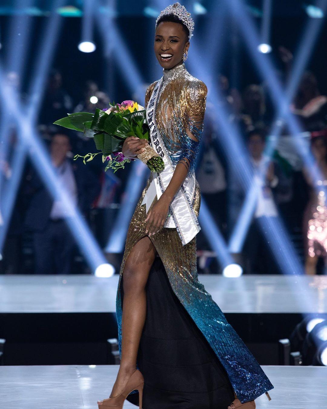 зозибини тунци победительница мисс вселенная 2019