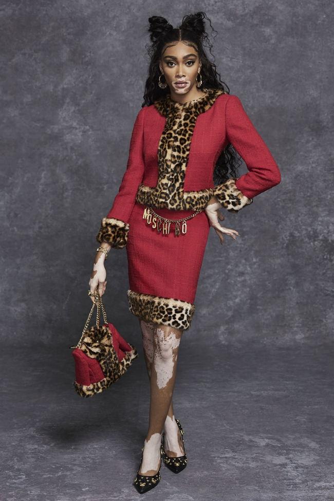 Винни Харлоу стала лицом новой коллекции Moschino Pre-Fall 2021 (ФОТО) - фото №6