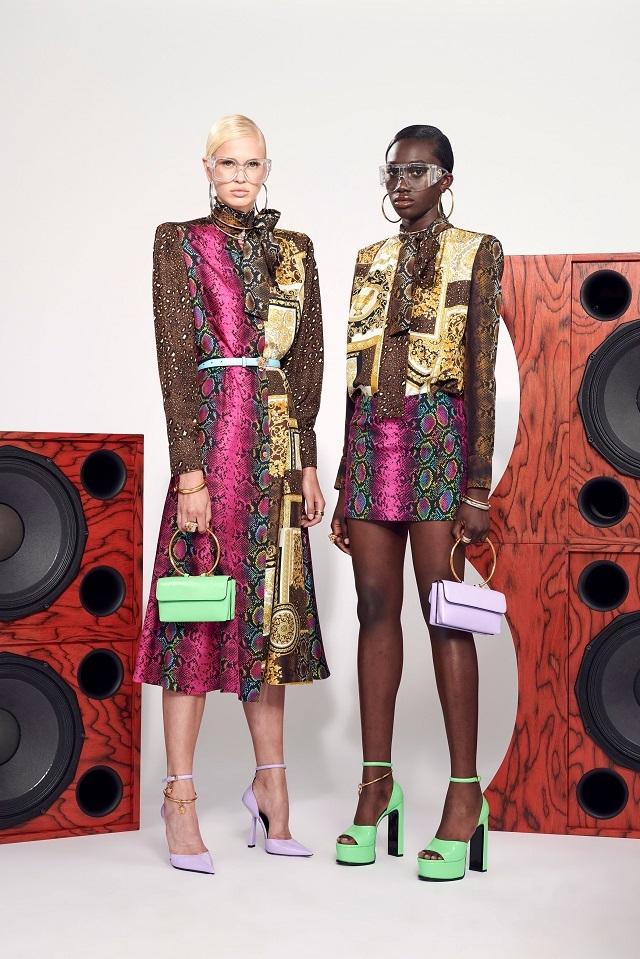 Брюки с низкой посадкой и змеиный принт: Versace представили новую круизную коллекцию (ФОТО) - фото №7