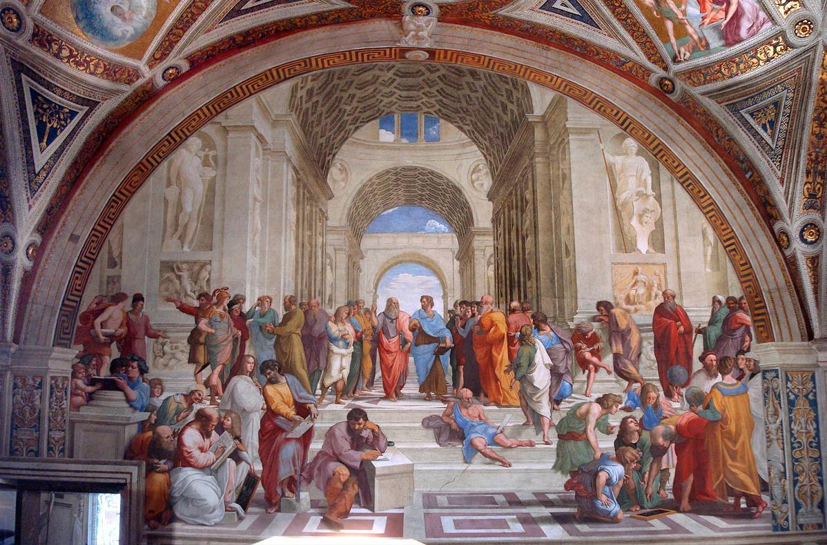 афинская школа вандализм