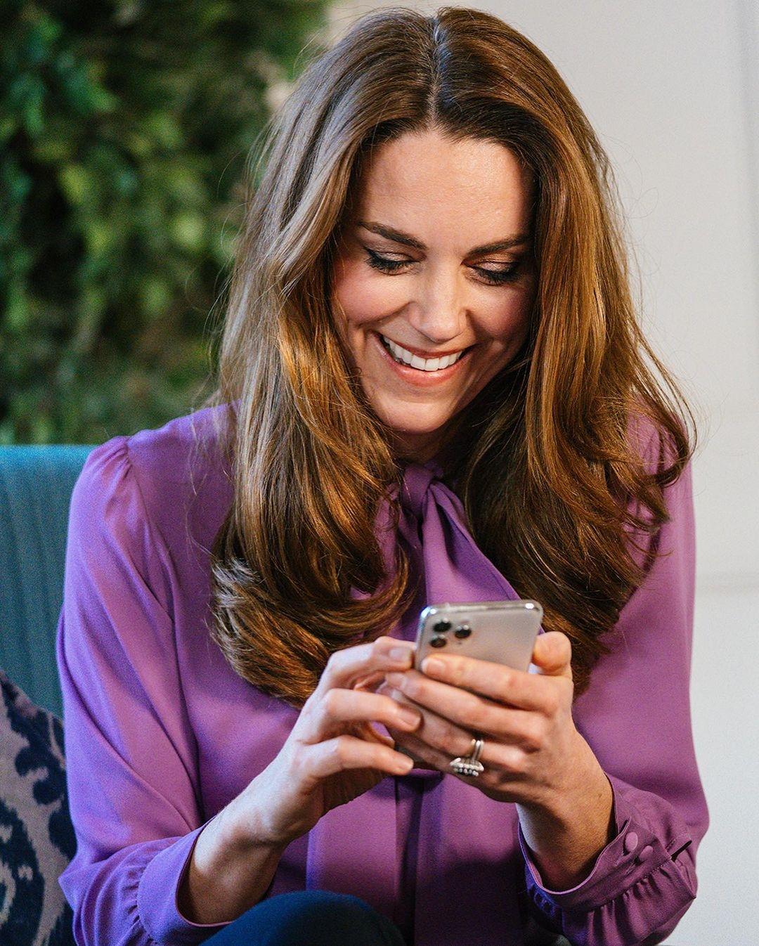 Лавандовый — тренд сезона: рассматриваем новые образы Кейт Миддлтон (ФОТО) - фото №2