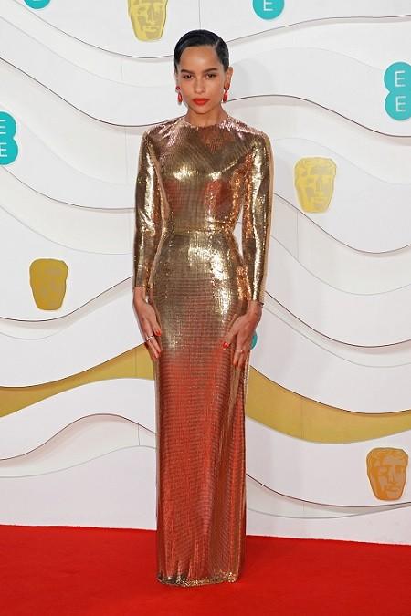 Кейт Миддлтон, Лили Роуз Депп, Скарлетт Йоханссон на BAFTA 2020 - фото №7